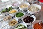 tossed salad bar