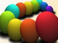 image of colorful eggs for easter
