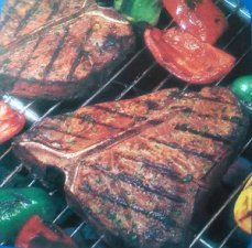 Steaks for an outdoor party menu