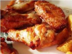 baked buffalo wings