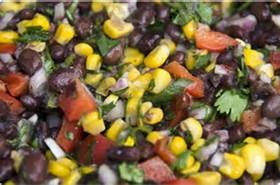 black bean salad image