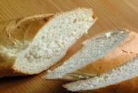 slices of bread for bruschett
