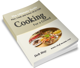 Image of the ebook titled cooking for a crowd the ultimate guide
