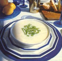 bowl of yogurt dip