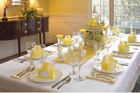 beautiful easter table setting
