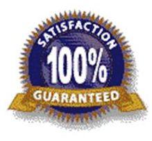 satisfaction guaranteed emblem