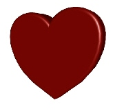 image of a red heart
