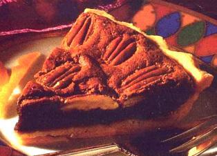Orange Chocolate Pecan Pie