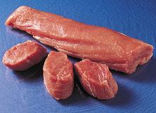 raw pork tenderloin medallions