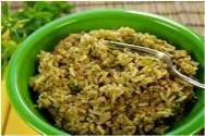 bowl of dirty rice