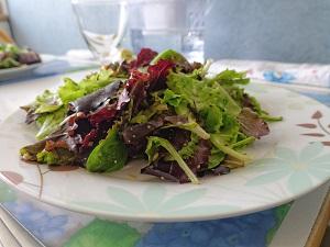 image of salad greens