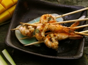 shrimp on skewer