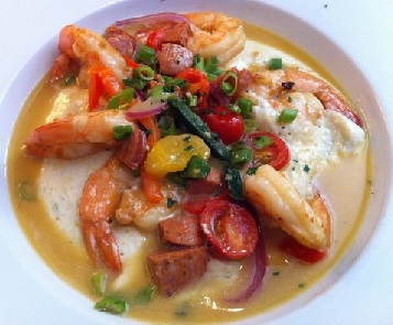 chef geoff's shrimp and grits