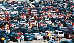 image of tailgaters