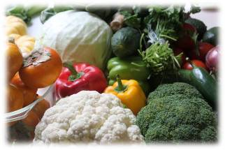 colorful array of vegetable