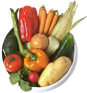 picture of garden vegetables