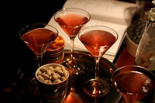martinis with nuts