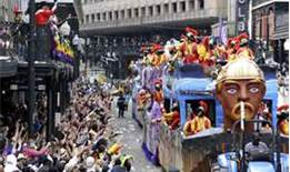 Mardi Gras day parade